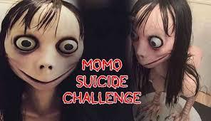 humorous Momo Challenge memes