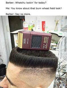 humorous barber memes