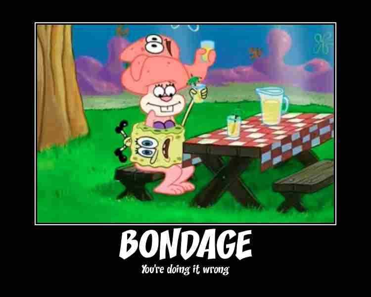 humorous bondage meme