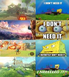 humorous breath of the wild memes