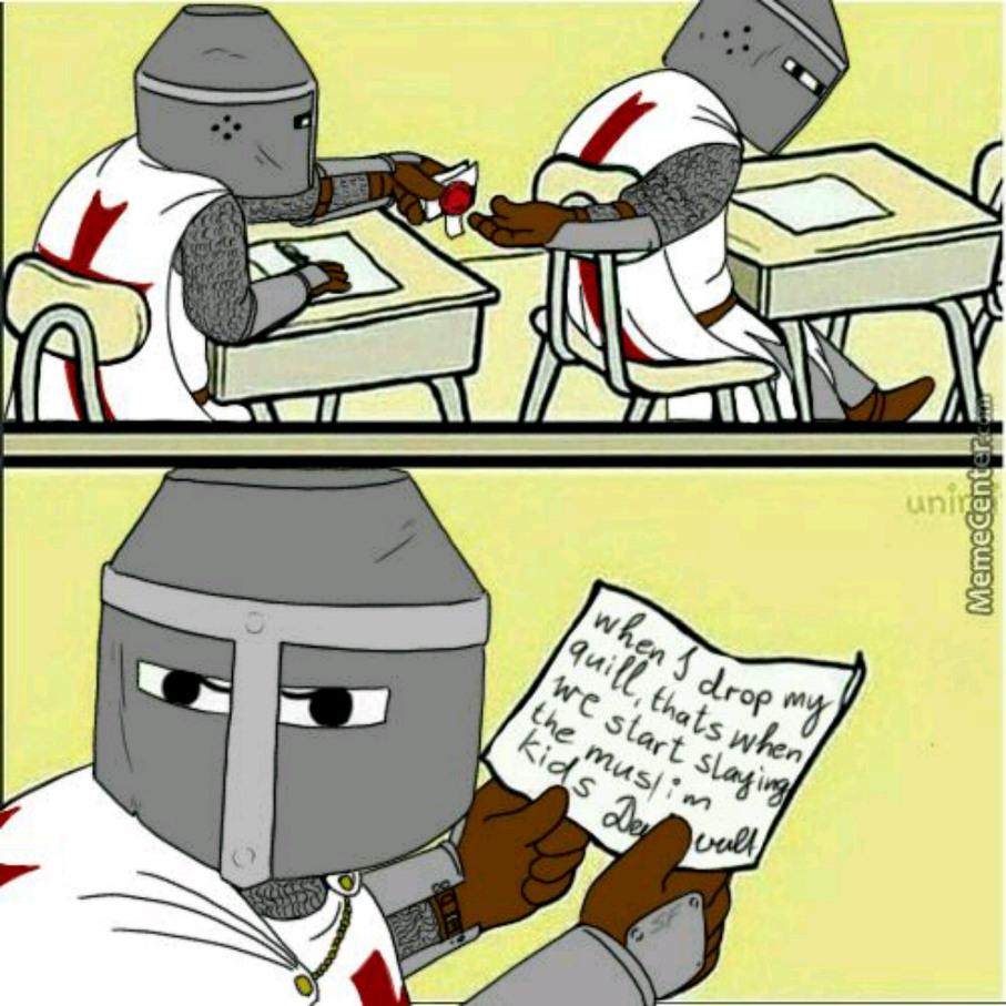 humorous deus vult memes