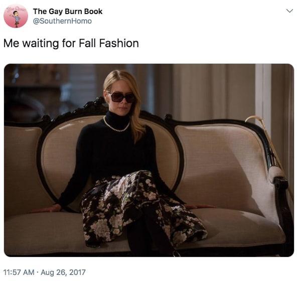 humorous fall memes
