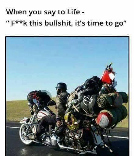humorous motorcycle memes
