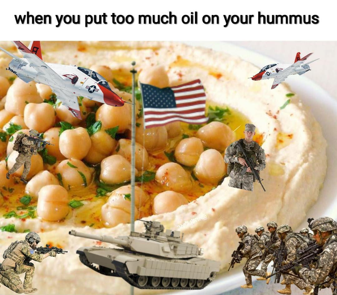 humorous oil meme
