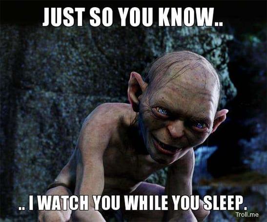 humorous sleep meme