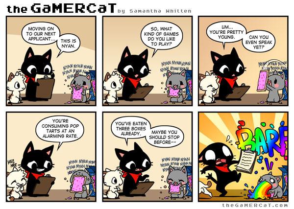 jolly Nyan Cat memes