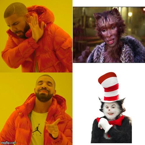 jolly cat in the hat meme