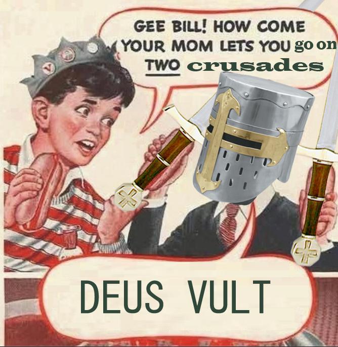 jolly deus vult memes