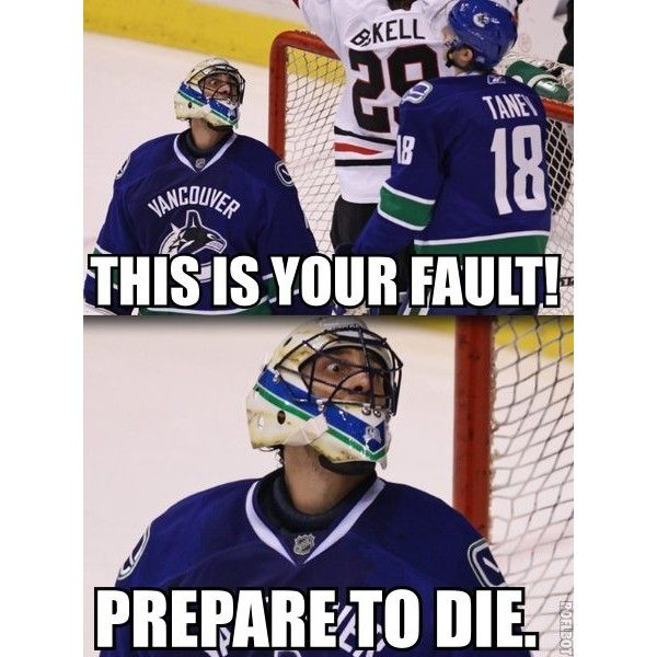 laughable hockey memes
