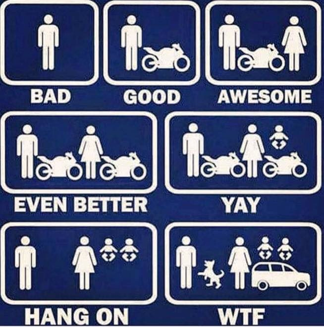 laughable motorcycle memes