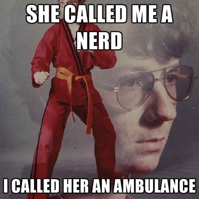 laughable nerd memes