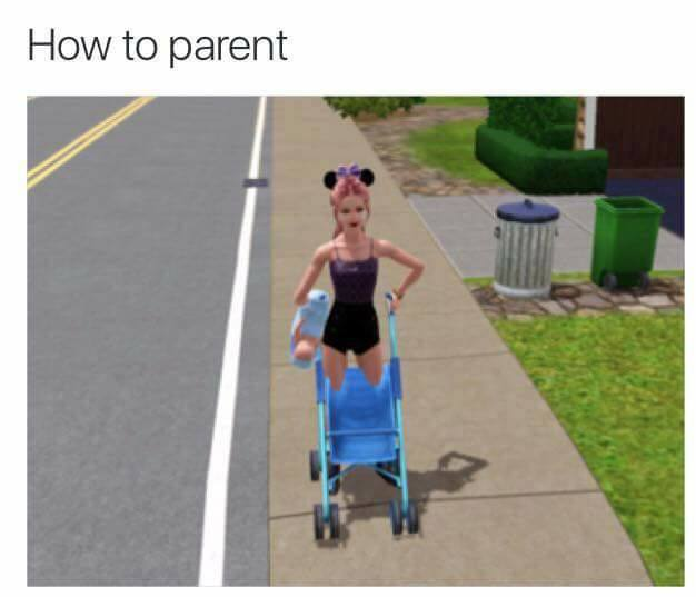 laughable sims memes