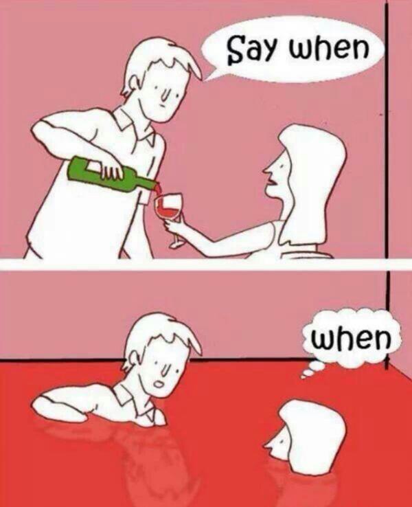 laughable wine meme