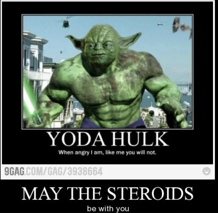 laughable yoda meme