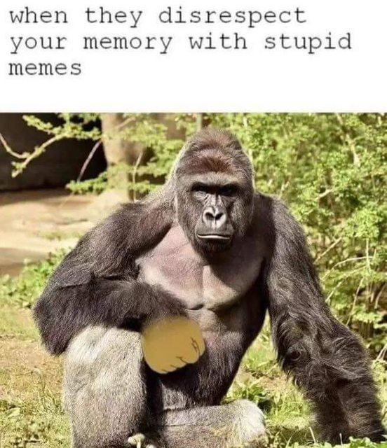 lively Harambe the Gorilla memes