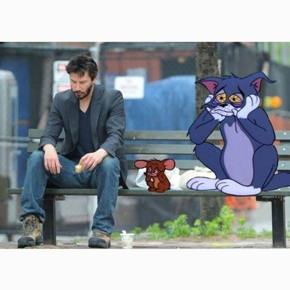 lively Sad Keanu memes