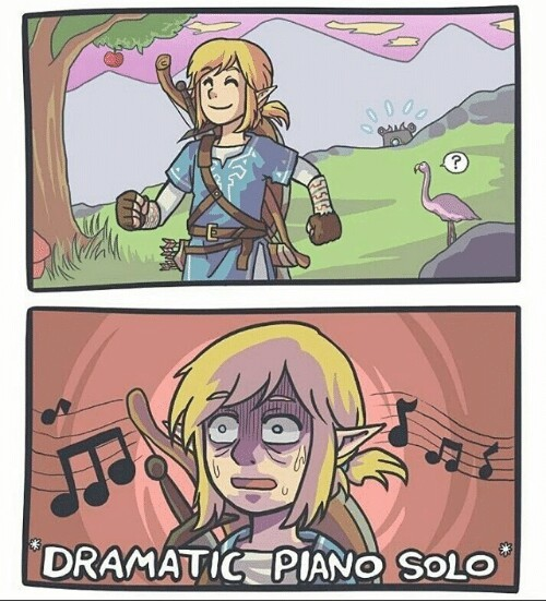 lively breath of the wild memes