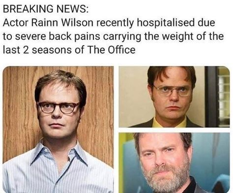lively dwight schrute memes