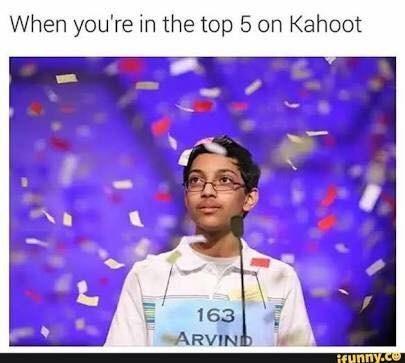 lively kahoot memes