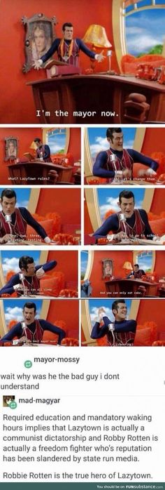 lively robbie rotten memes