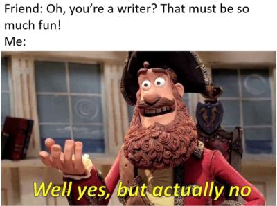 lively writing memes