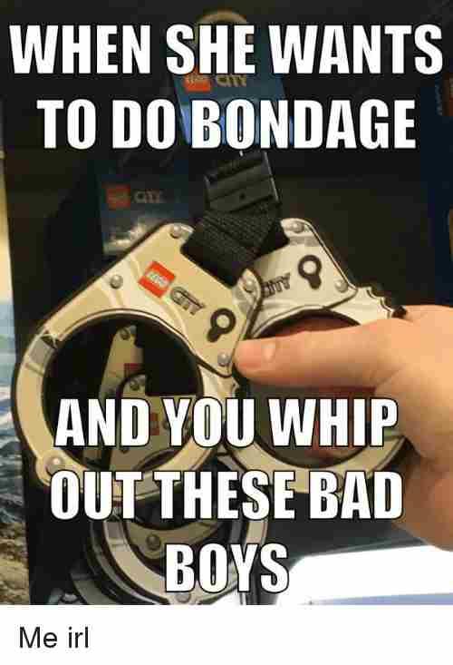 rib-tickling bondage meme
