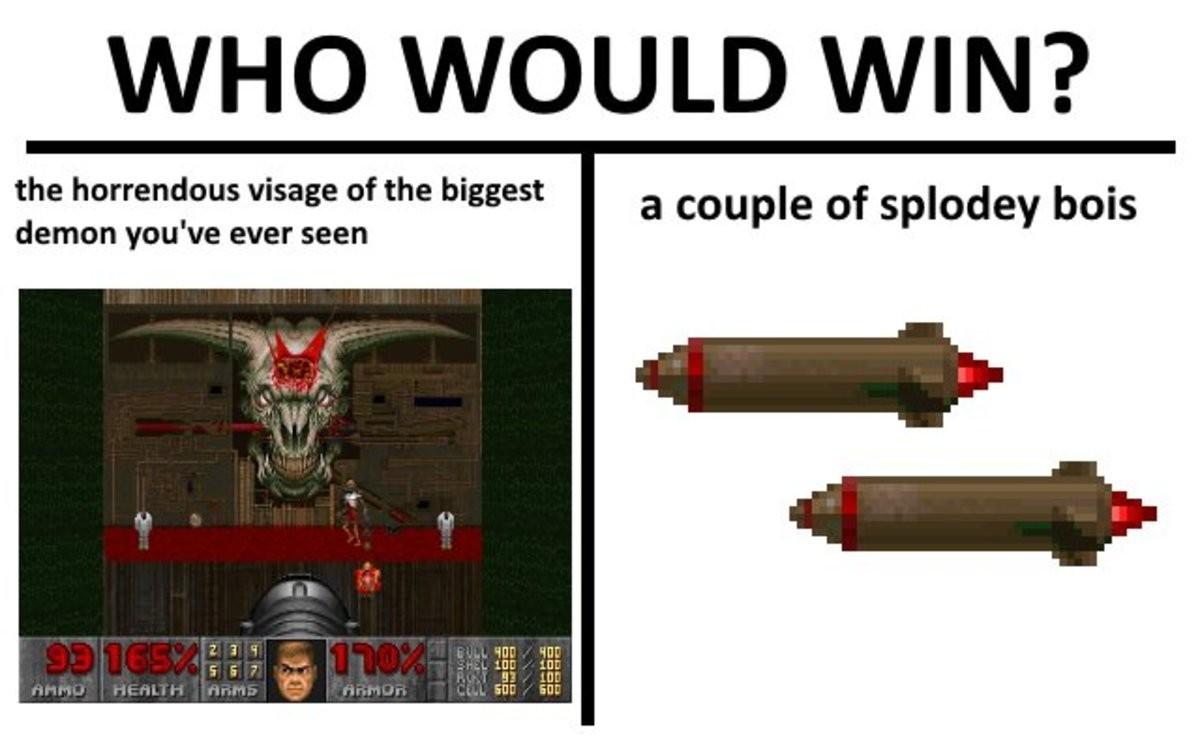 rib tickling doom memes