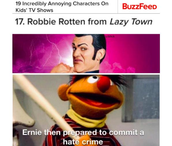rib-tickling robbie rotten memes