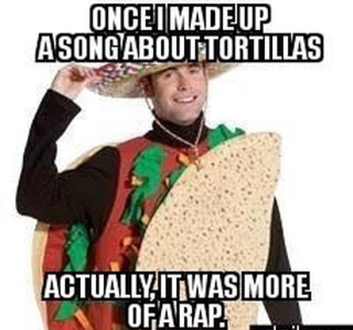 rib-tickling taco meme