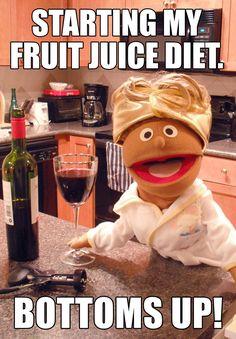 rib tickling wine meme
