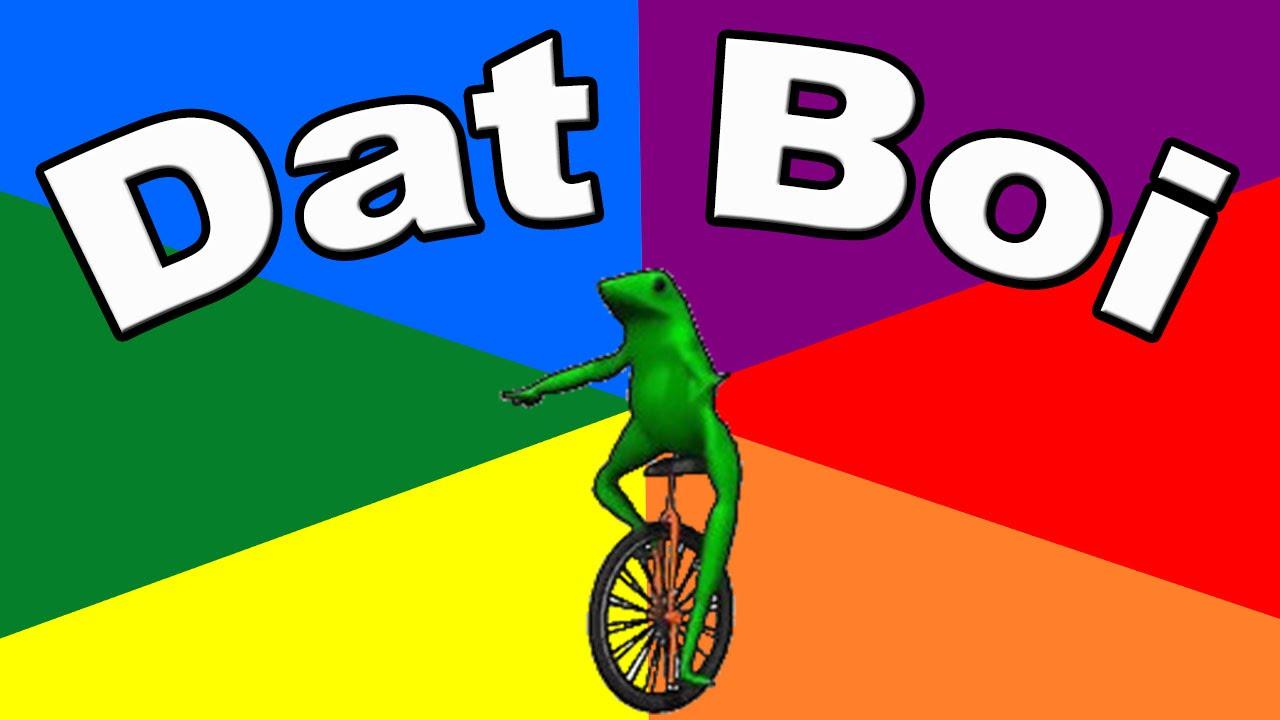 sparkling Dat Boi memes