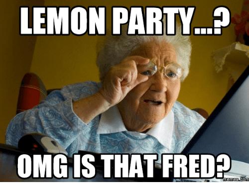 sparkling Lemon Party memes