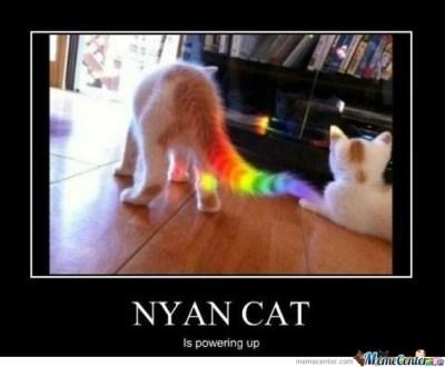 sparkling Nyan Cat memes