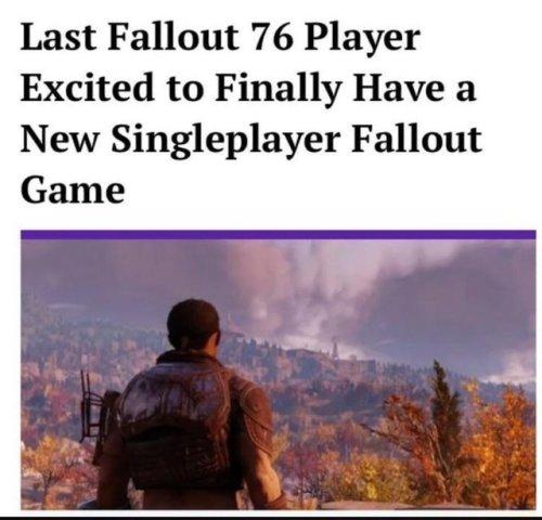 sparkling fallout 76 memes