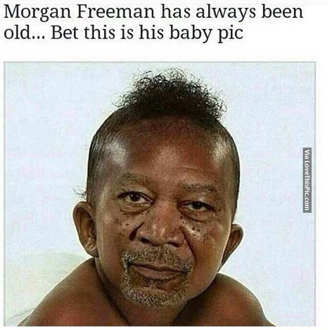 sparkling morgan freeman memes