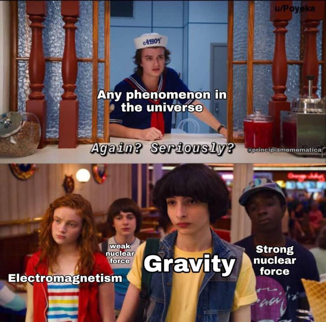 sparkling physics memes