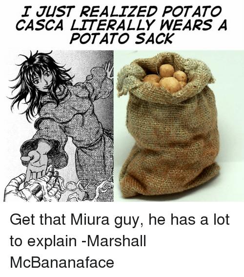 sparkling potato meme