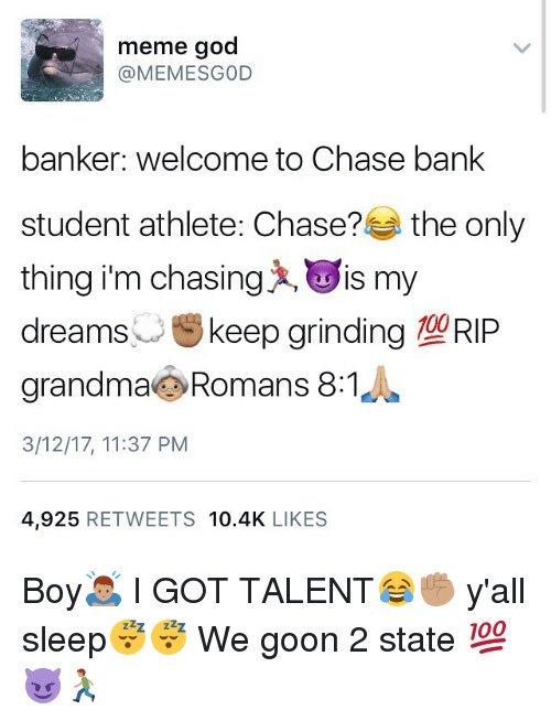 sparkling student athlete meme