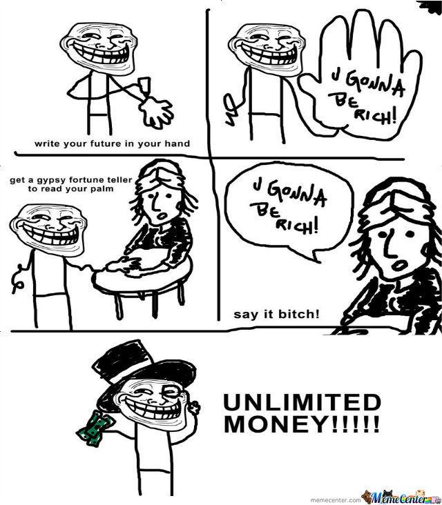 sparkling trollface memes