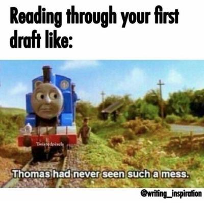 sparkling writing memes