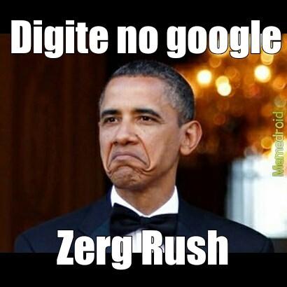 sparkling zerg rush meme