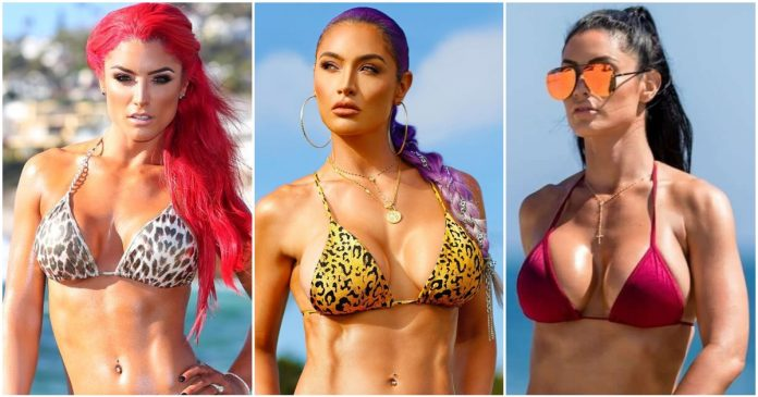61 Eva Marie Hot Pictures Captured Over The Years