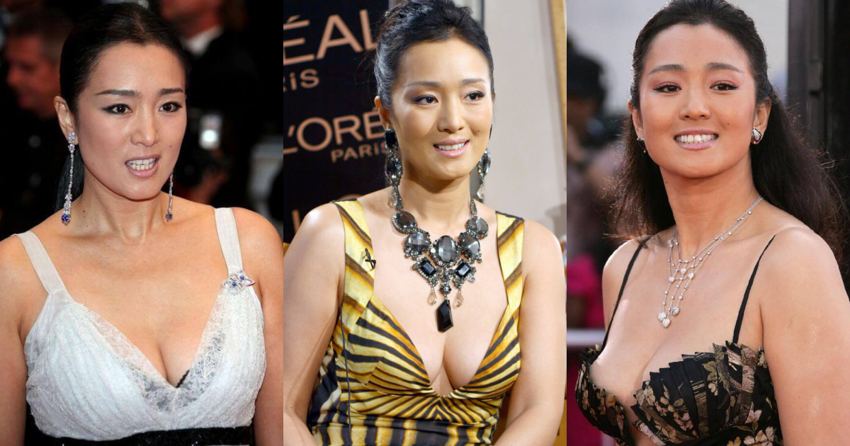 61 Gong Li Hot Pictures Prove That She Is An Angel