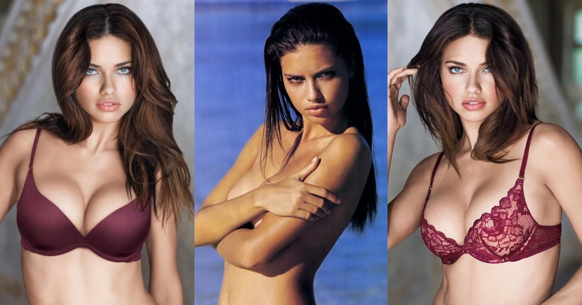 61 сексуальная фотография сисек Adriana Lima заставит вас болеть за нее