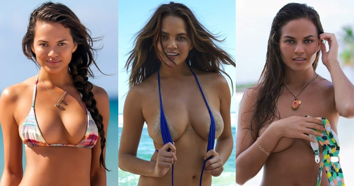 61 Sexy Chrissy Teigen Boobs Pictures Showcase Her Ideally Impressive Figure