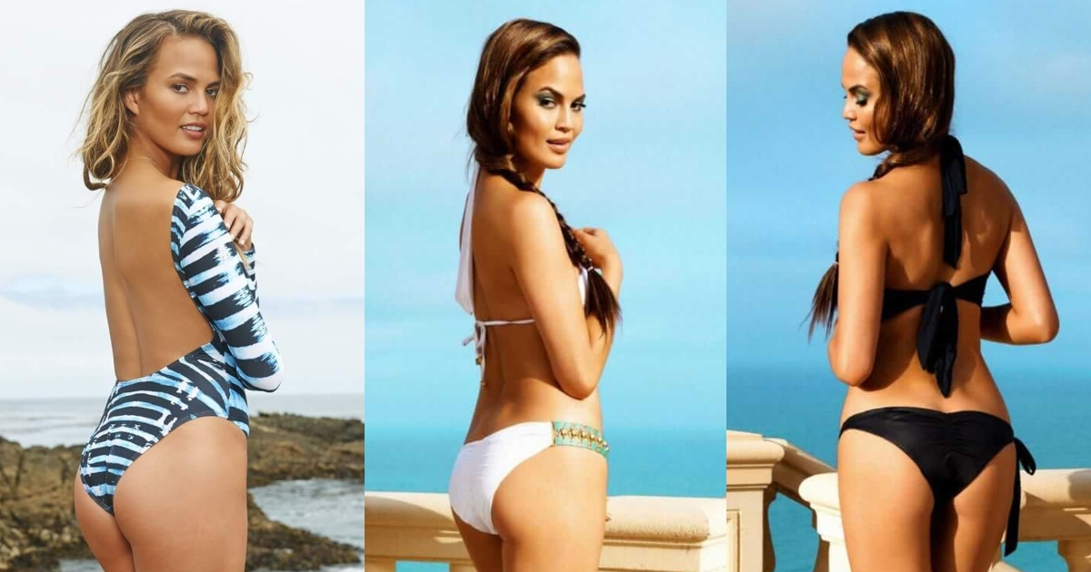 61 Sexy Chrissy Teigen Booty Pictures That Will Make You Begin To Look All Starry-Eyed At Her