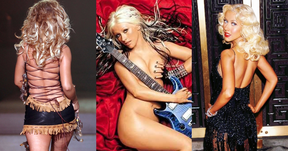 61 Sexy Christina Aguilera Booty Pictures Demonstrate That She Has Most Sweltering Structure