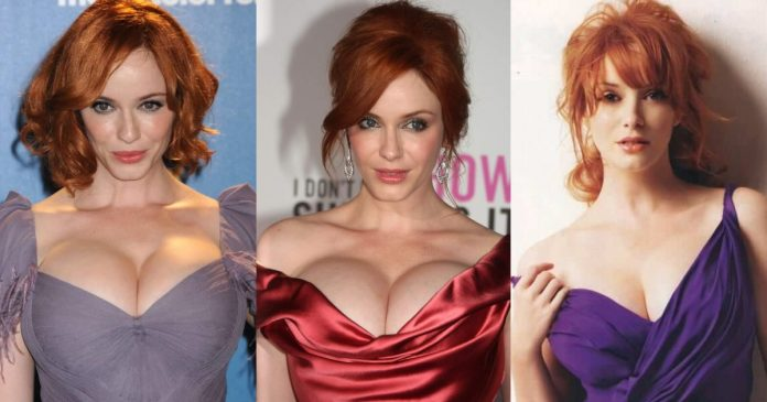 61 Sexy Christina Hendricks Boobs Pictures Will Leave You Stunned By Her Sexiness