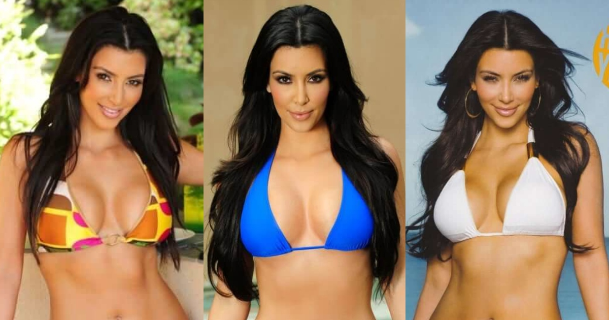 61 Sexy Kim Kardashian Boobs Pictures Are A Genuine Meaning Of Immaculate Badonkadonks