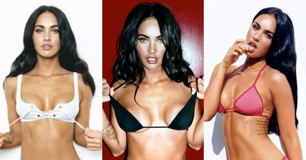 61 Sexy Megan Fox Boobs Pictures Are Paradise On Earth